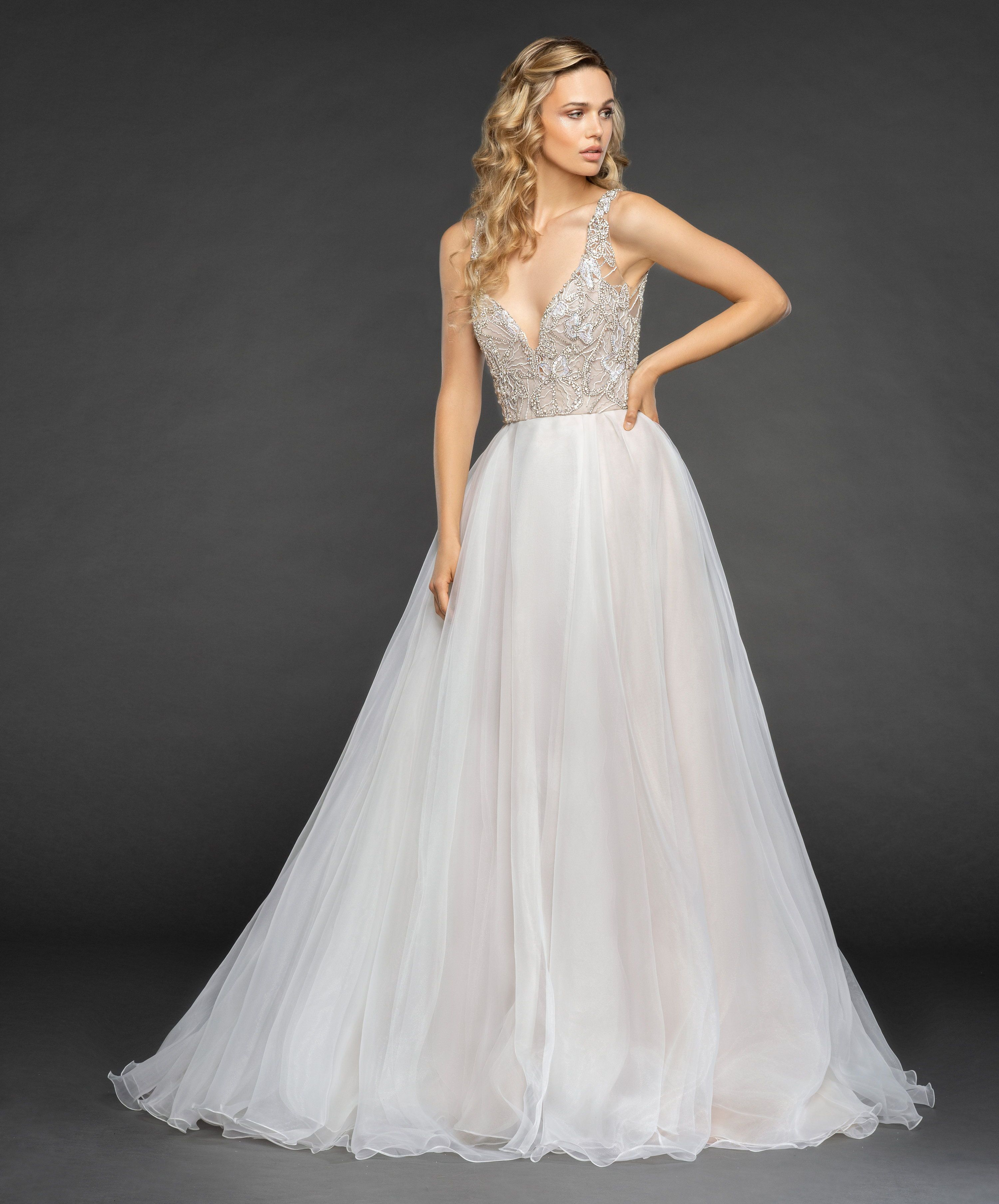 Warren Hayley Paige Fall 2018 Collection A Line Wedding Dress