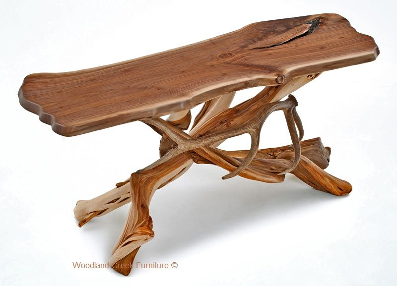 Superb Log Sofa Table Antler Sofa Table Lodge Console Table Alphanode Cool Chair Designs And Ideas Alphanodeonline
