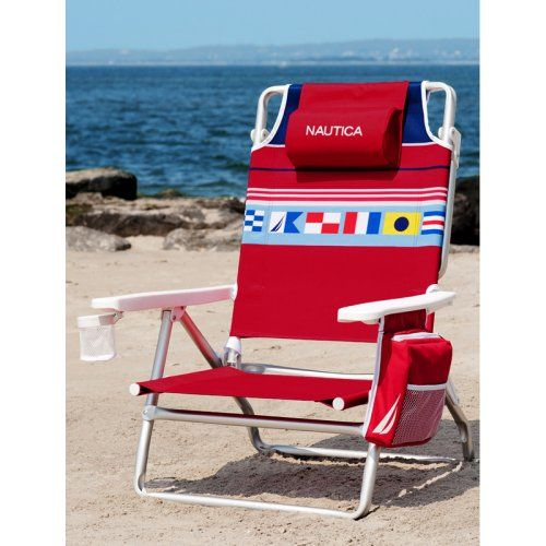 Find It At The Foundary Nautica 5 Position Lay Flat Beach Chair 43
