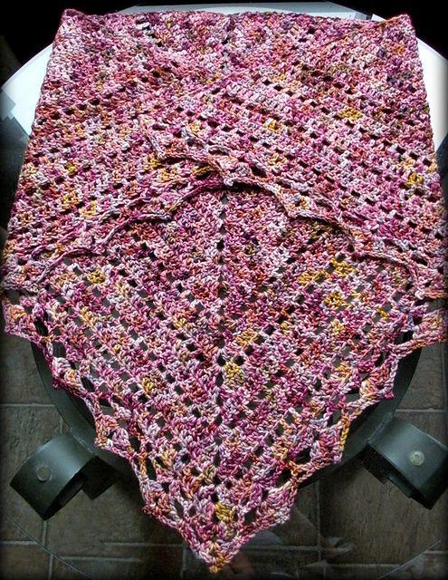 Brambleberry Shawl Pattern By Vicky Brehm A Myriad Of Shawls