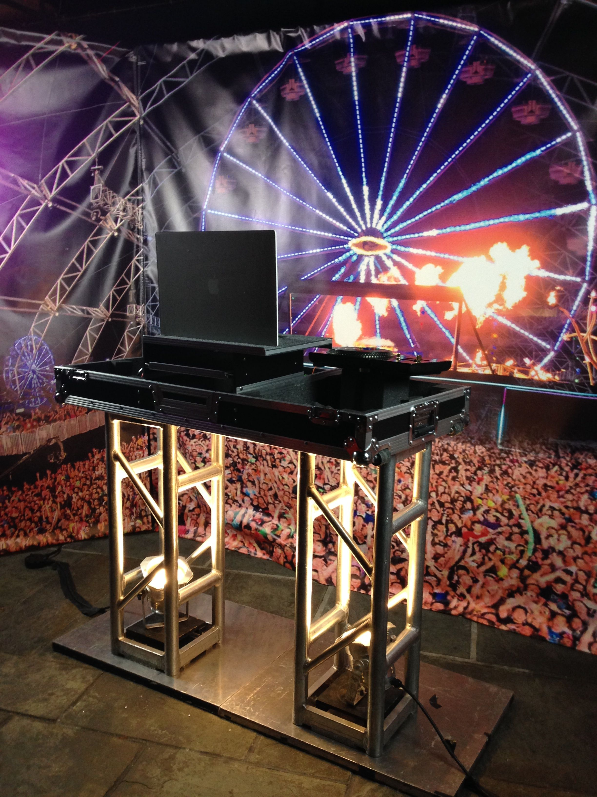 Dj Booth For Sale >> DJ Booth Backdrop | Photo Backdrops in 2019 | Dj booth, Dj equipment for sale, Dj equipment