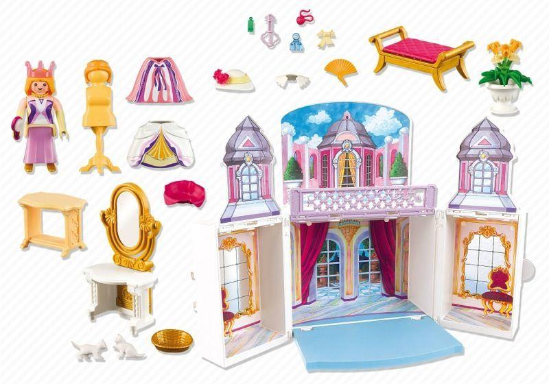 Playmobil 5419   Take Along Princess Castle   Back