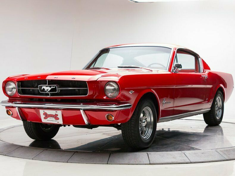 1965 Ford Mustang Fastback 289 V8 3 Speed Automatic Fastback Rangoon Red 1965 Ford Mustang Quot C Quot Code Fastbac Mustang Fastback Ford Mustang Gt Mustang