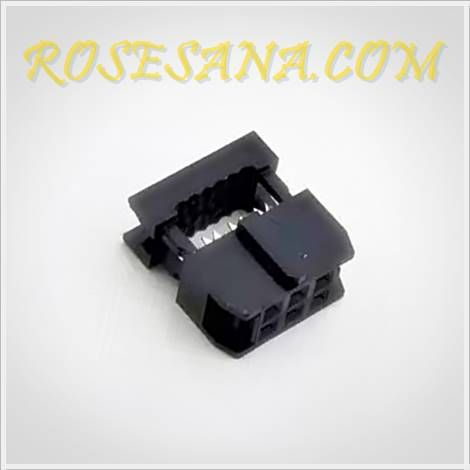 6 Pin Idc Socket 2mm Pitch Kota Elektronik