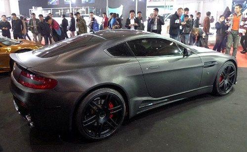 Satin Black Chrome Matte Black Chrome Frozen Black Chrome Aston Martin Aston Martin Aston Aston Martin Cars