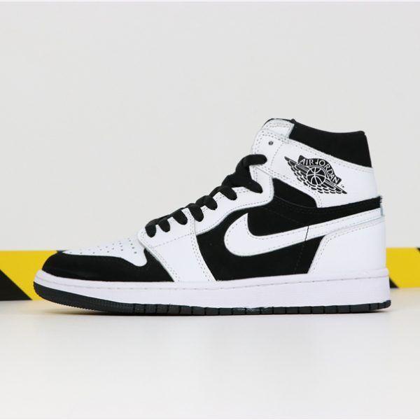 Air Jordan 1 Mid Black White Shoes Best Price 554724-113 in ...