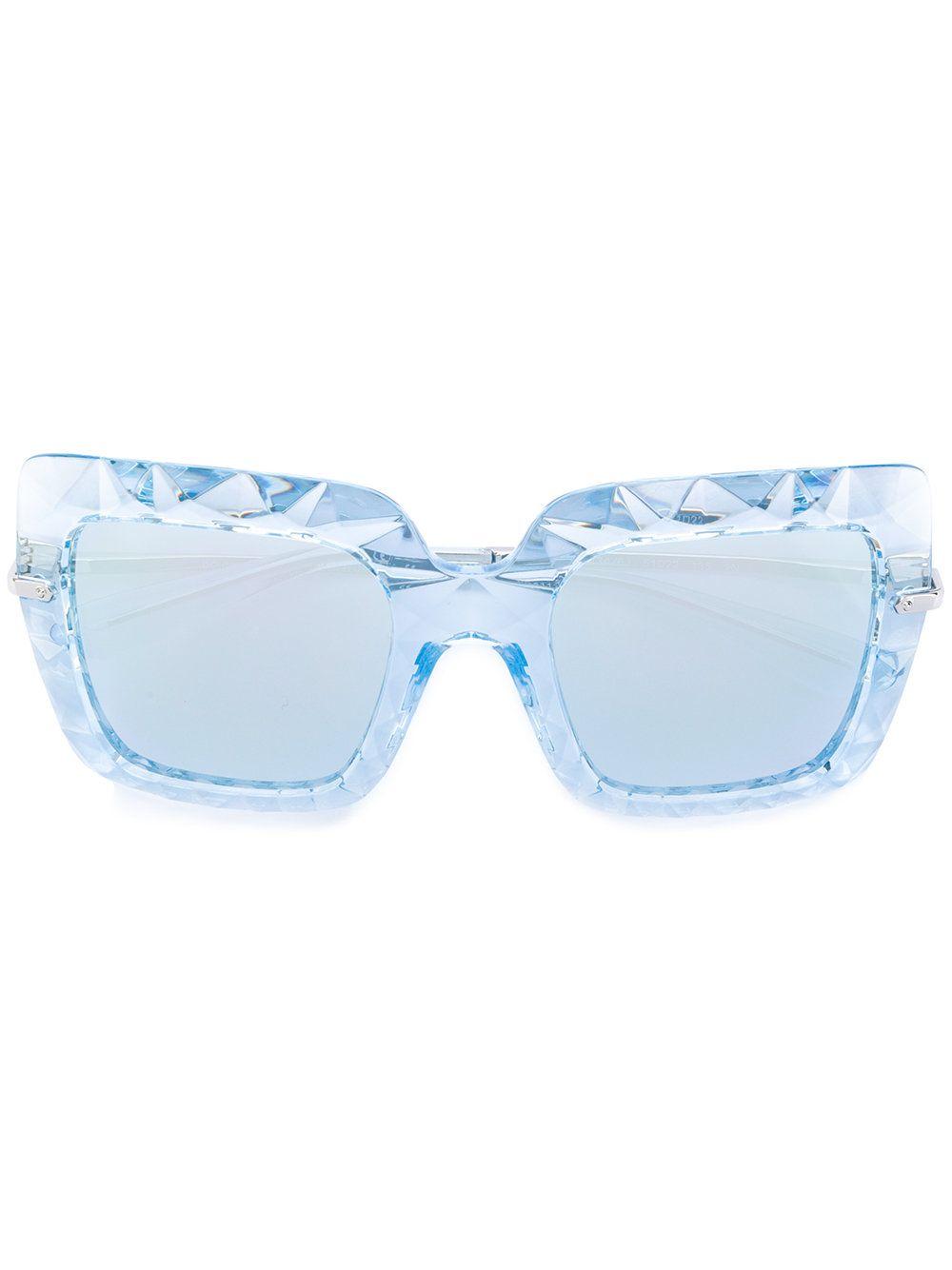 Dolce   Gabbana Eyewear Óculos De Sol Geométrico   Óculos de sol ... fda4f48345