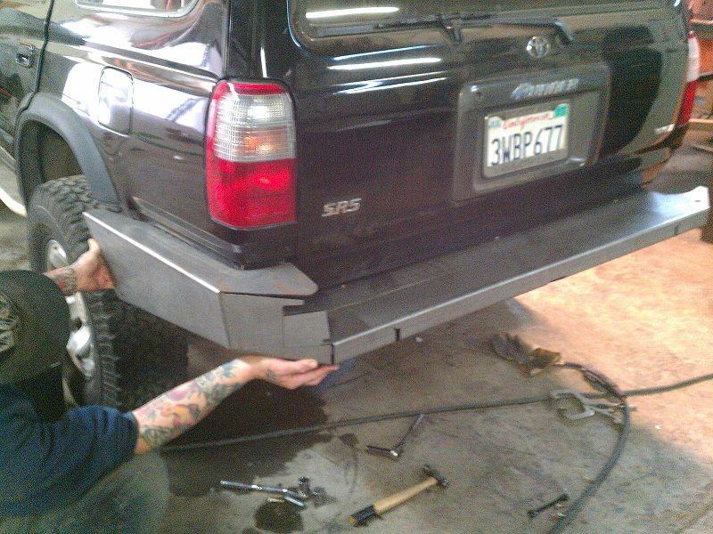 Outdoor Logic 3rd Gen Rear Plate Bumper spy thread - Page 8