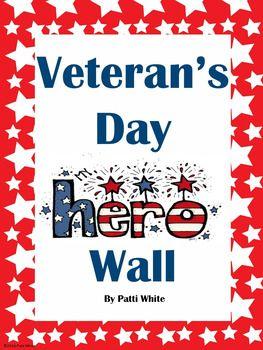 Veteran's Day Hero Wall