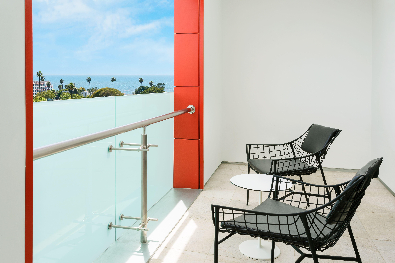 The King Balcony At Courtyard Marriott Santa Monica Designed By HBA Studio