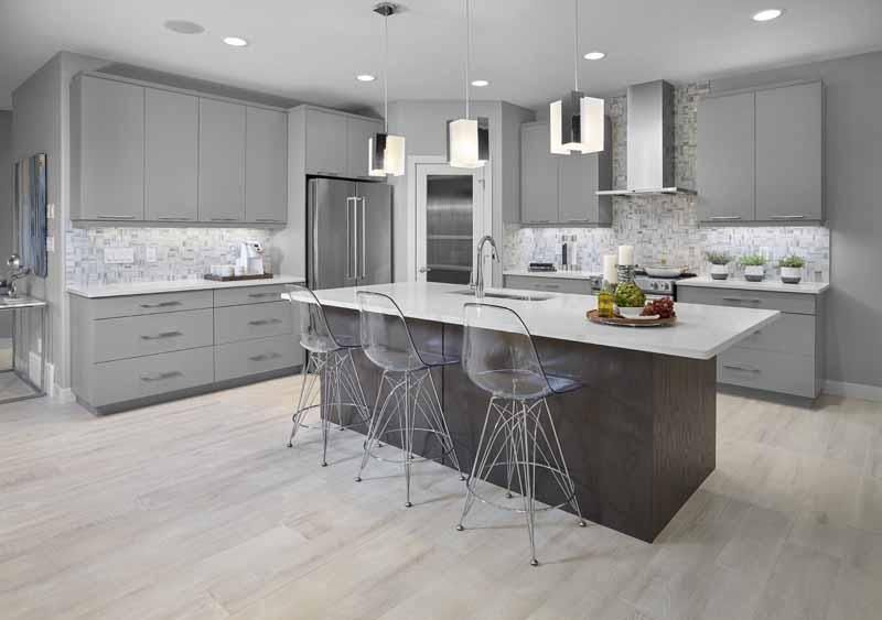 Choosing A Different Colour Style Of Cabinets For The Kitchen