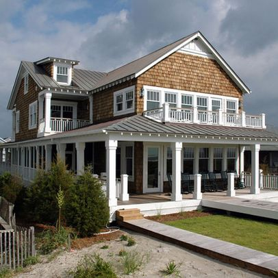 Deck Upside Down House Beach House Design Ideas, Pictures, Remodel