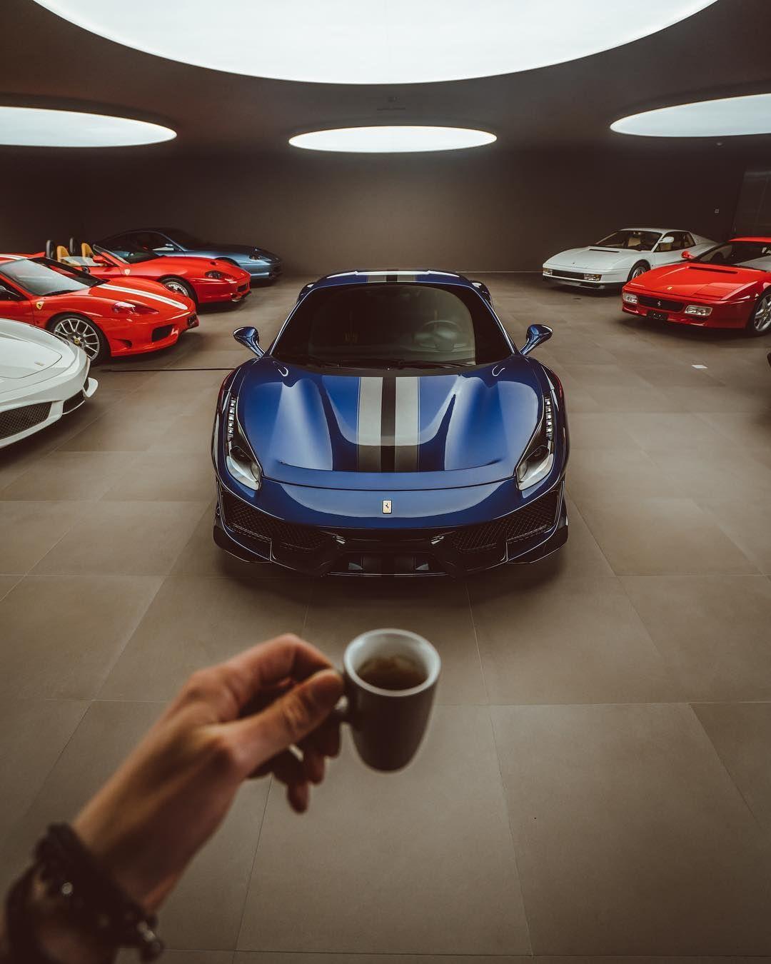 A Look Inside A Ferrari Purists Heaven, Bella Macchina