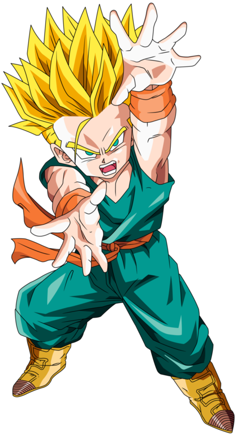 Kid Trunks By Boscha196 Anime Dragon Ball Super Dragon Ball Art Goku Dragon Ball Super Goku