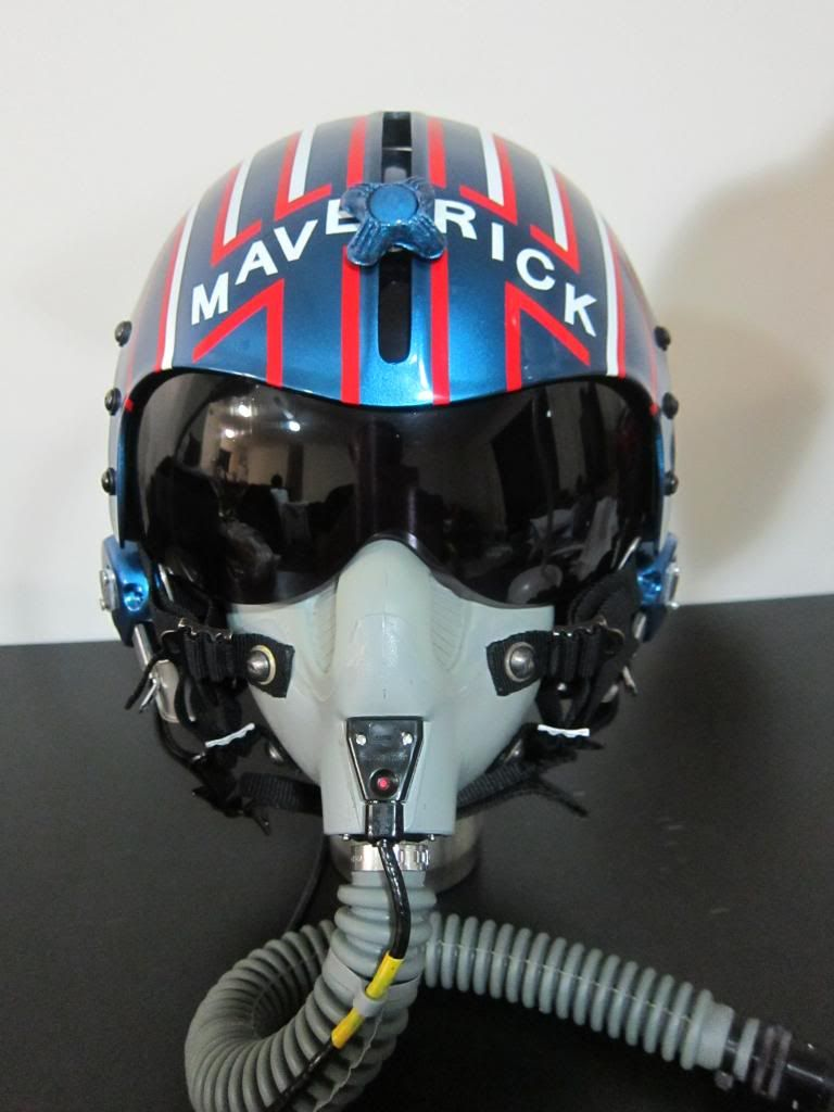 replica of maverick 39 s helmet top gun pinterest luftfahrt flugzeug and motorrad. Black Bedroom Furniture Sets. Home Design Ideas