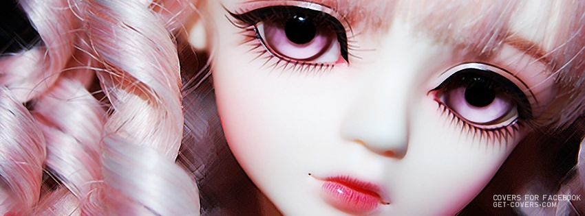 Creepy Doll Eye Painted On Idea NOTE Striated Lip Covers FacebookFacebook TimelineCute