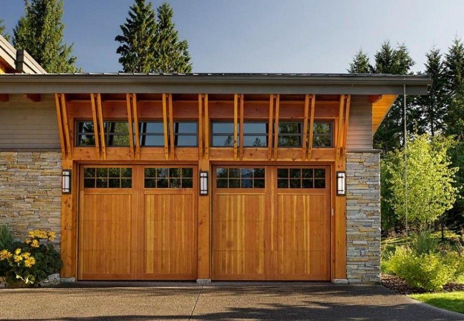 Exterior Design Garage Doors Modern Cedar Shake Style Cool Door Designs Pictures Ideas