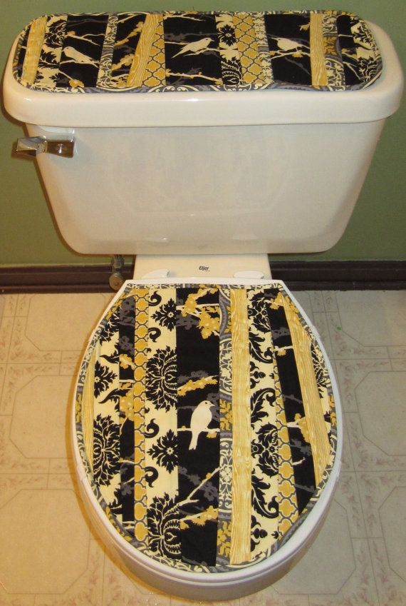 Toilet Tank Topper And Lid Pattern By