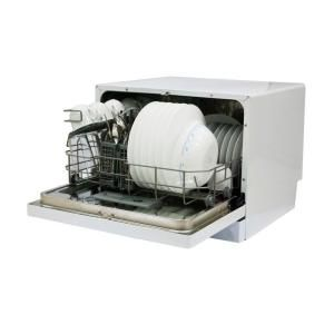 Magic Chef Countertop Dishwasher In White 6 Place Settings