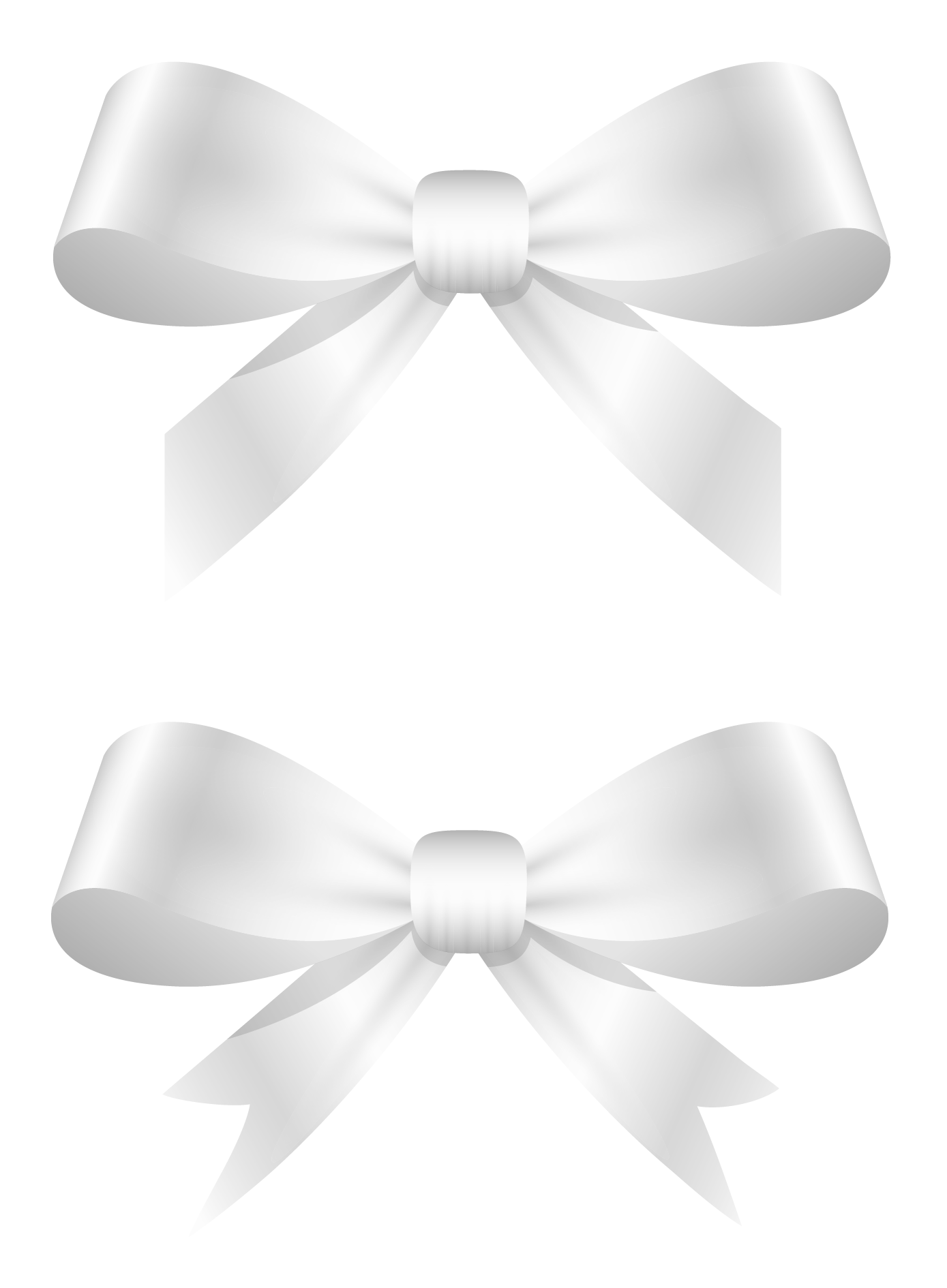 White Bows Png Clipart Picture Png 1389 1890 White Bow Alcohol Ink Crafts Bows
