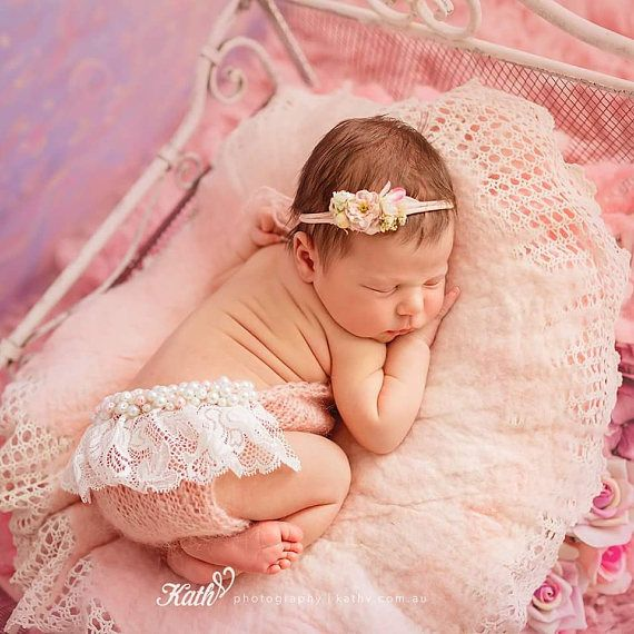 Newborn Girl Photo Outfit, Baby Girl Photo Prop, Baby Photo Props ...