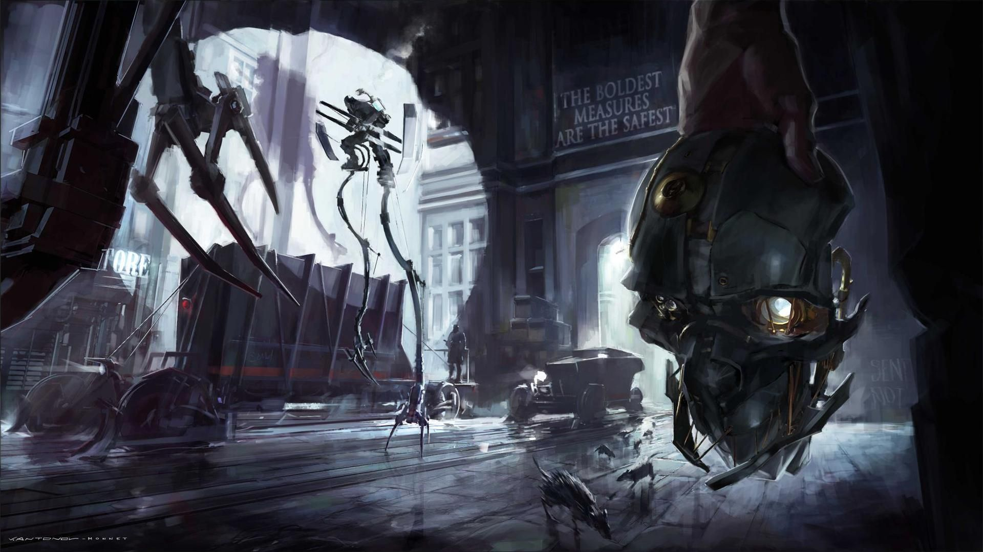View Download Comment And Rate This 1920x1080 Dishonored Wallpaper