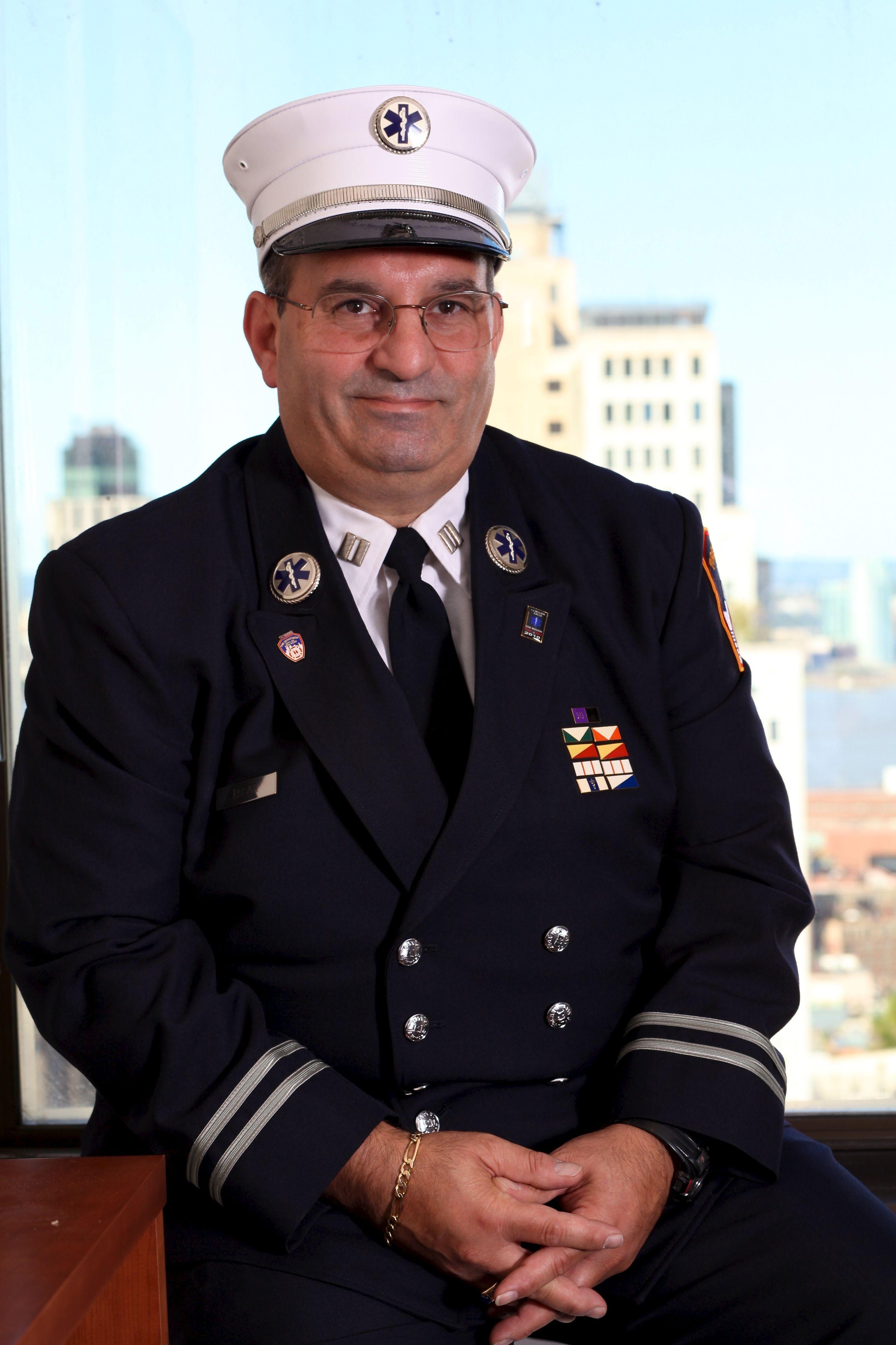 Vincent Rosati, Fire Department, 2,500 Award Service