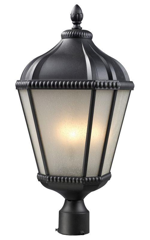 Z lite 513phm waverly 3 light outdoor post light with white seedy z lite 513phm waverly 3 light outdoor post light with white seedy shade black outdoor aloadofball Gallery