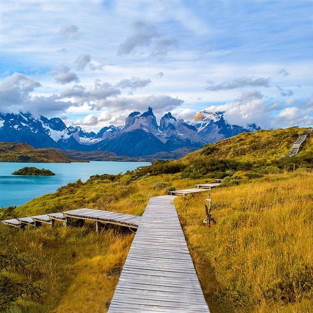 Location: The Pathway to Lago Pehoé - Parque Nacional Torres del Paine, Chile. Photo © @southamerica