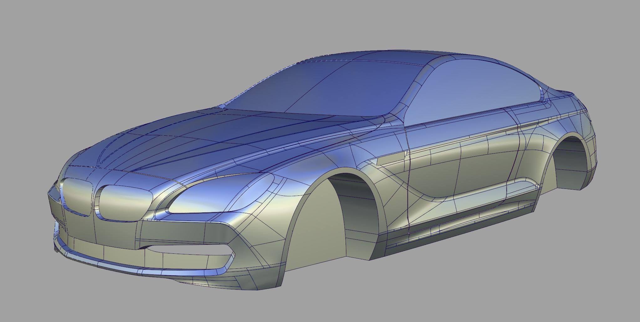 Bmw Alias 3d Model Automotive Design Design Model Car Model