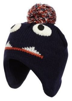 33f45745665 bluezoo Boy s navy monster trapper hat