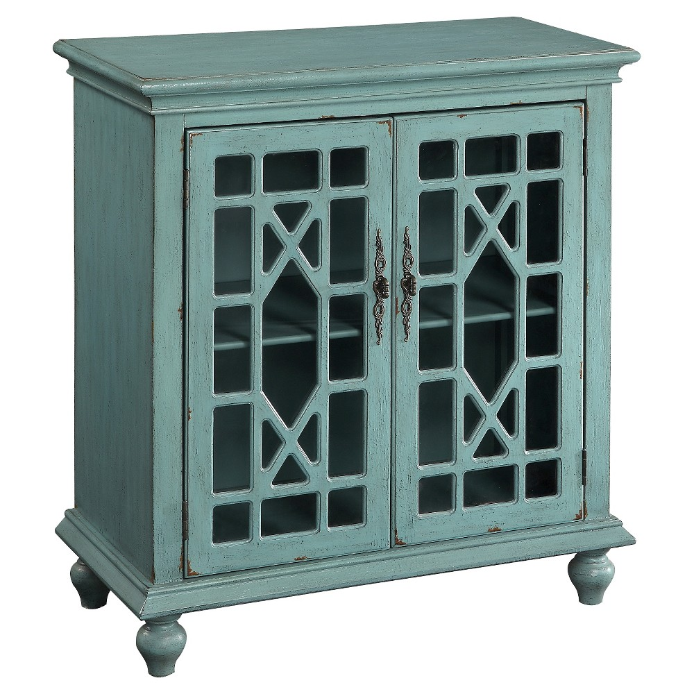Storage cabinet bayberry blue treasure trove products