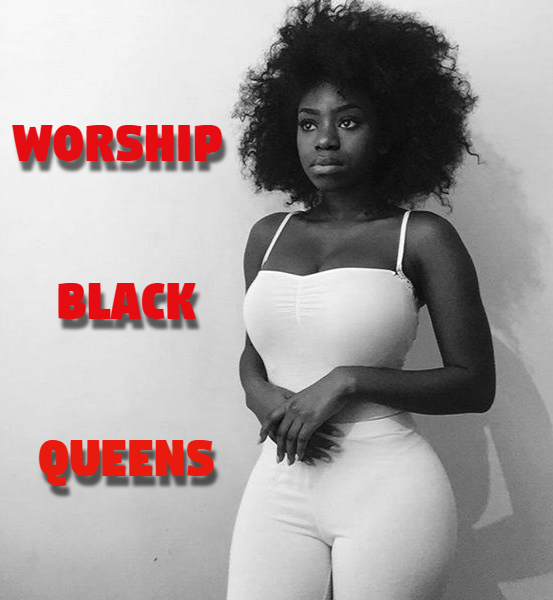 Consider, White girls black queens