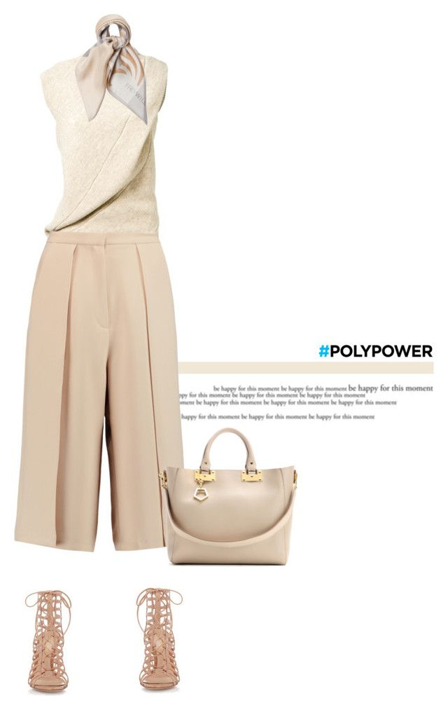 """""""Poly"""" by anja-173 ❤ liked on Polyvore featuring Victoria Beckham, Iris & Ink, Gianvito Rossi, Sophie Hulme and PolyPower"""