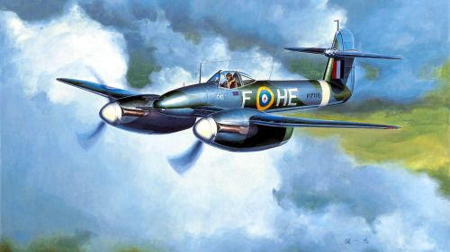Westland Whirlwind, F-HE, 263 Dywizjon, 1941r