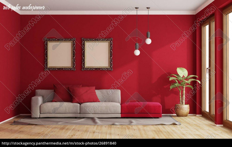 6 Gründe, Warum Menschen Rote Sofas Wohnzimmer Lieben in 6