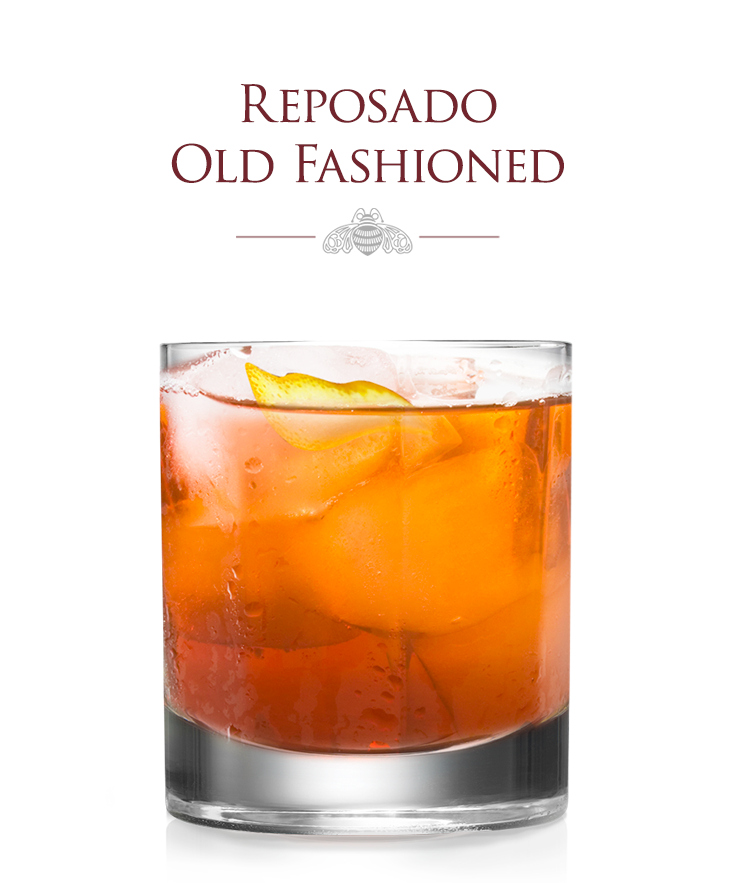 Patronworthy Tequila Tail Reposado Old Fashioned Made Exclusively With Patrontequila And Perfect