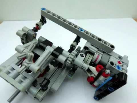 Lego sequential gearbox: Instructions for gearbox 3 + R manual and ...