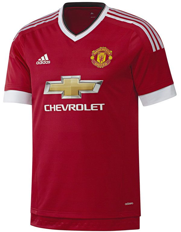 Manchester United 2015 2016 Home  89787d5ec