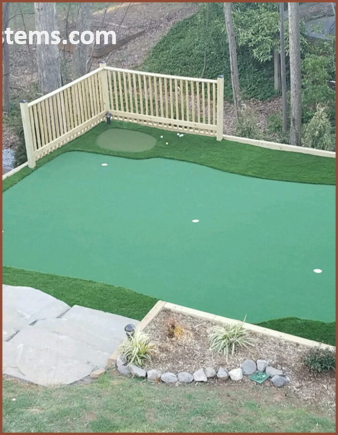 Do It Yourself Putting Greens | Custom Putting Greens ...