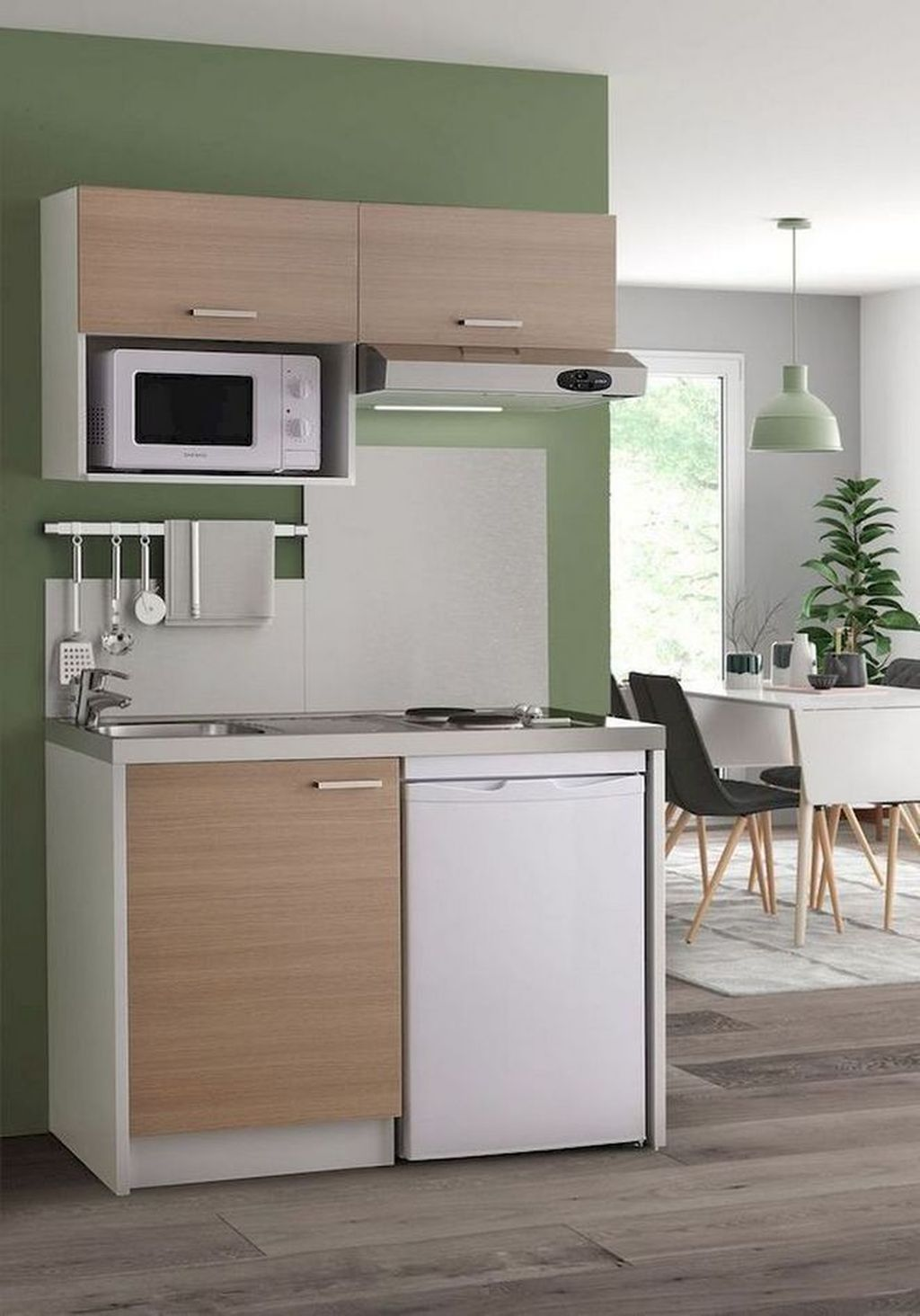 Best 35 Perfect Small Apartment Kitchen Design And Decor Ideas 640 x 480