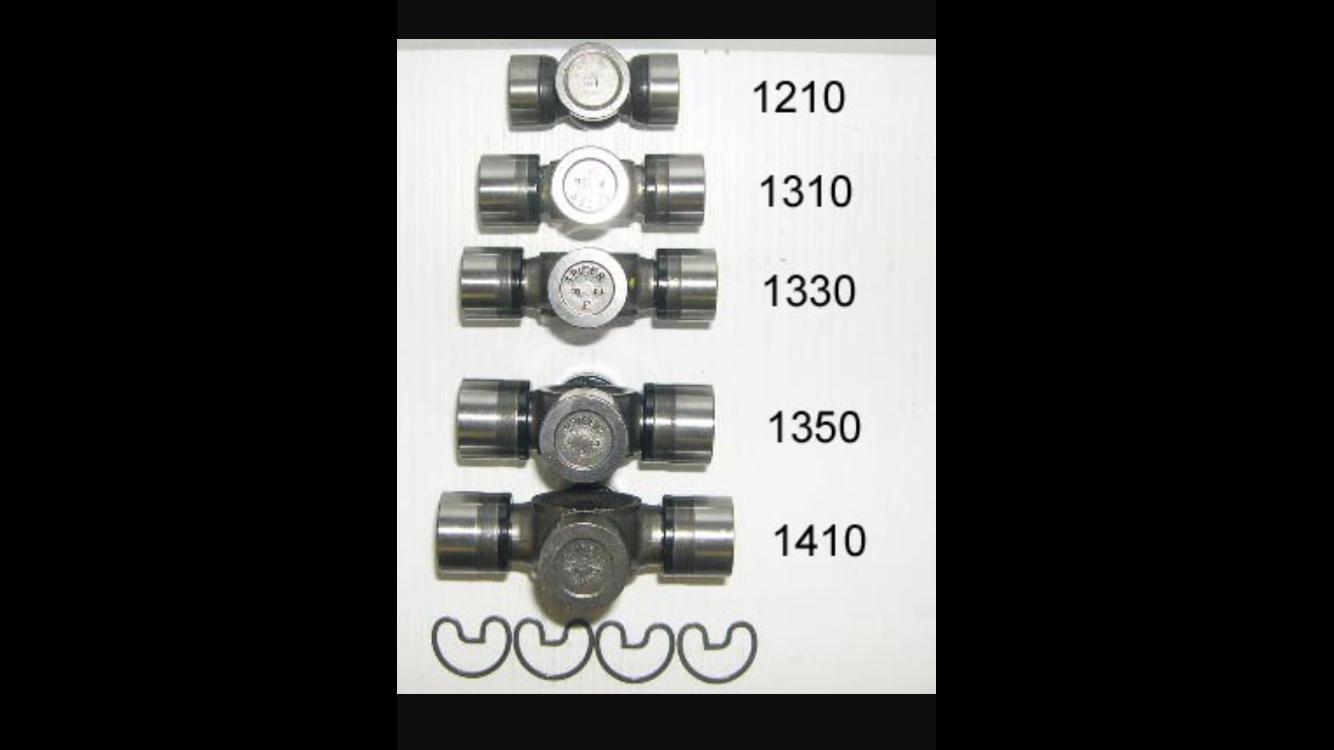 U joint size chart Car parts, Chart, Size chart