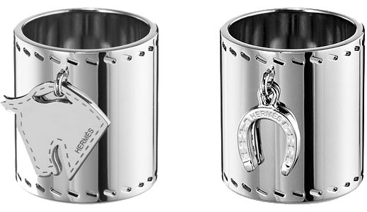 Gorgeous Hermes rings