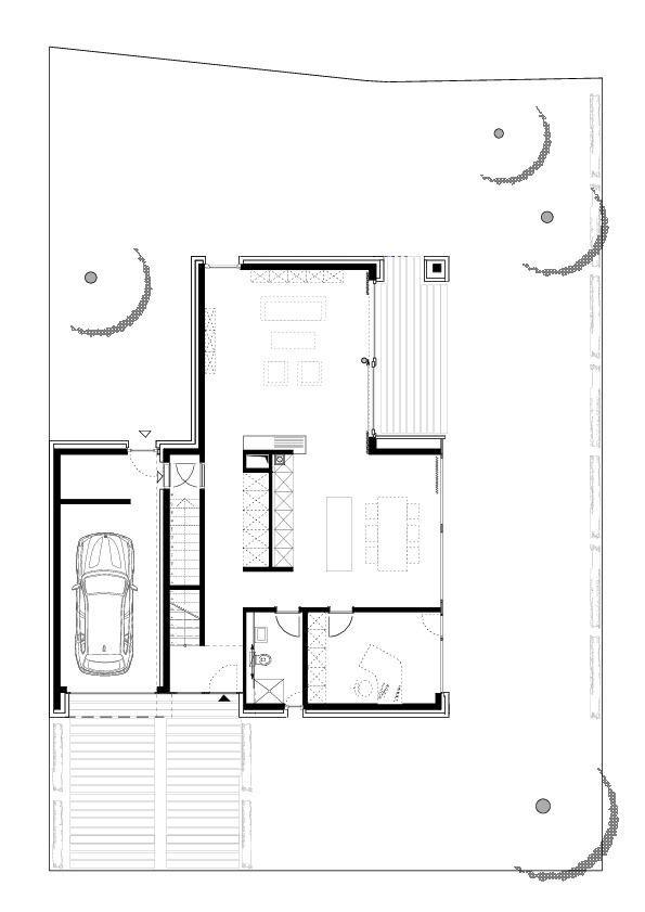 Erdgeschossgrundriss Huntepanorama Architekturobjekte