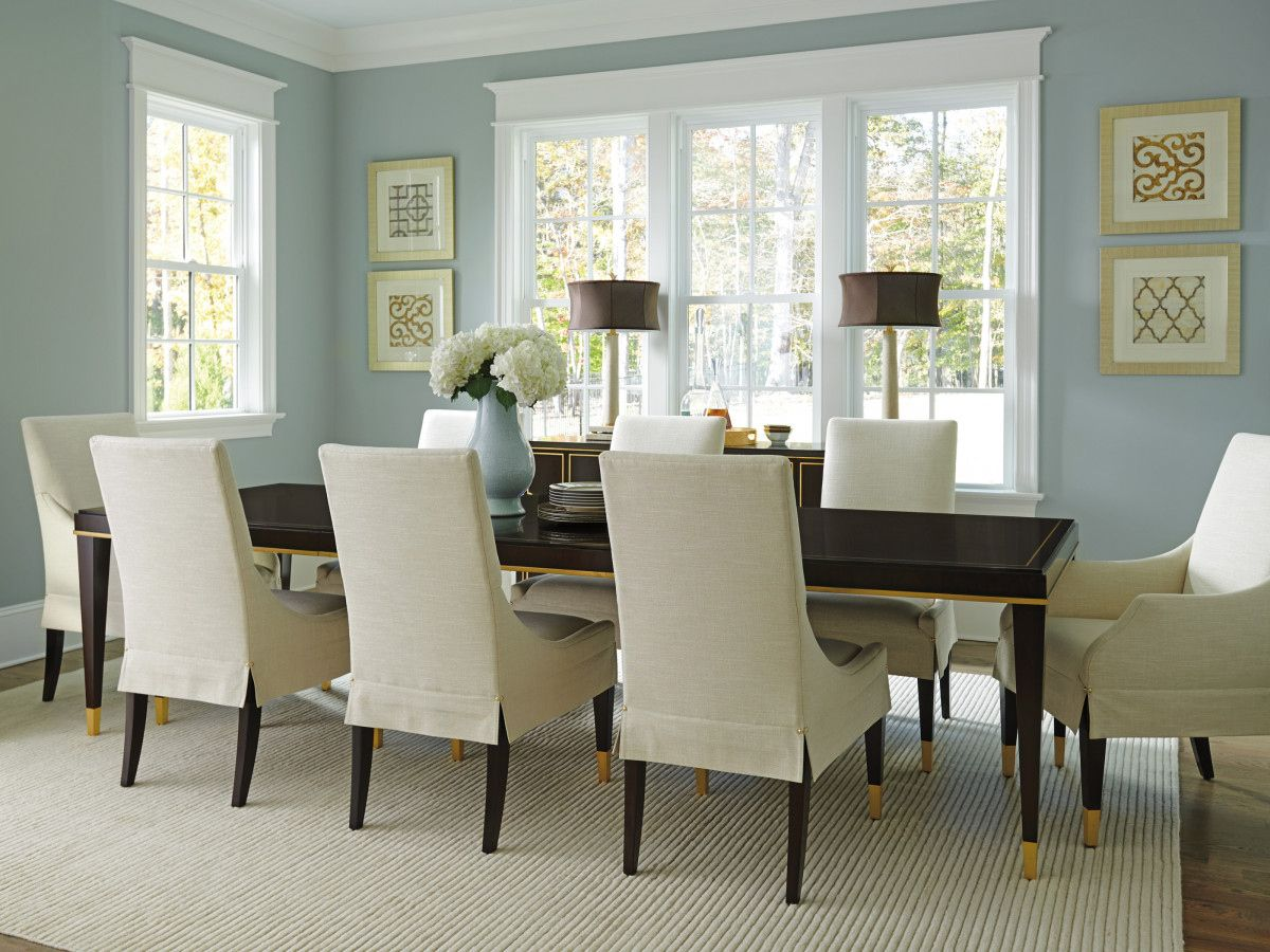 Shop Lexington Home Brands At Furnitureland South Upholstered Side Chair Dining Table Extendable Dining Table