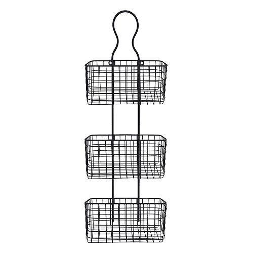 Kohlu0027s // Wall Mounted Wire Basket 3 Tier // $39.99