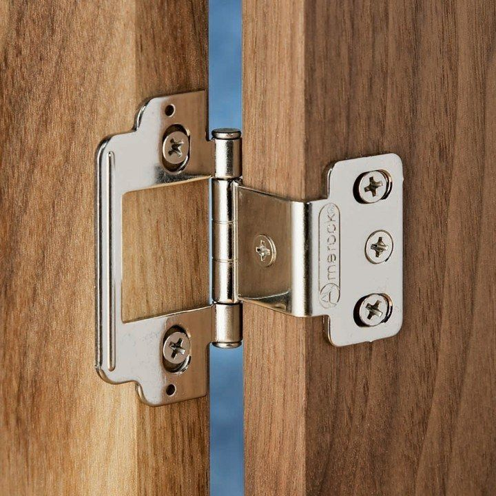Flat Tip Partial Wrap Around Hinges Hinges Closet Storage Design Stainless Steel Cleaning