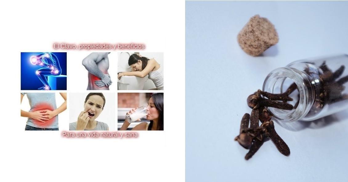 Usos medicinales muy a tener en cuenta de los clavos de olor