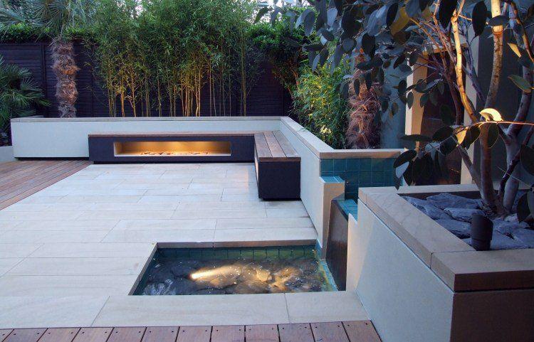 Aménagement de jardin et terrasse moderne en 42 photos | Verandas ...
