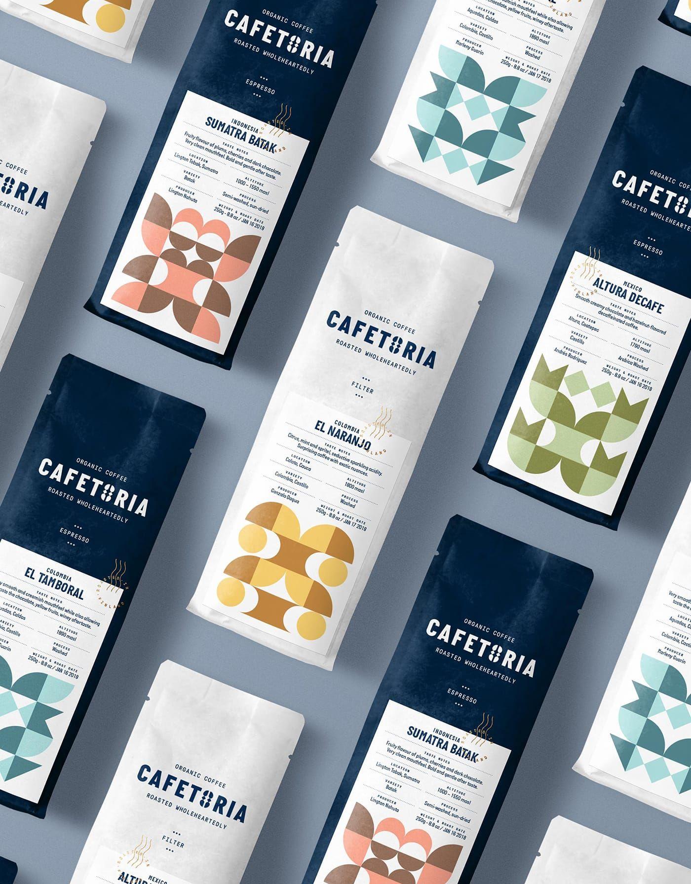 Cafetoria Mindsparkle Mag Coffee Shop Branding Branding Shop Tea Packaging